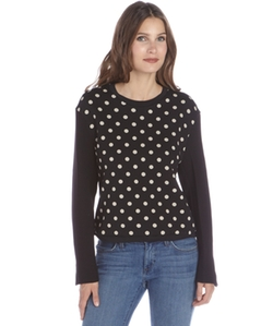 Phillip Lim  - Polka Dot Printed Cotton Sweater
