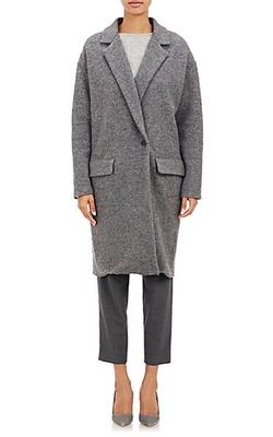 Nili Lotan - Boiled Wool Coat