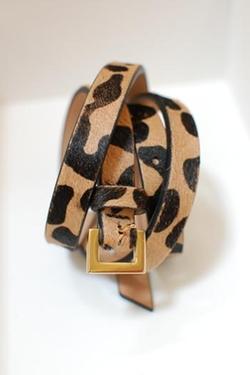B-Low The Belt - Leopard Print Belt