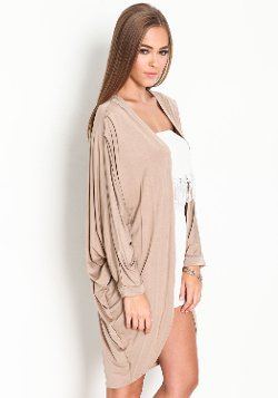 Love Couture - Jersey Knit Kimono Cardigan