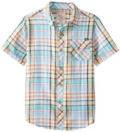 Lucky Brand  - Boys 8-20 End Summer Woven Shirt