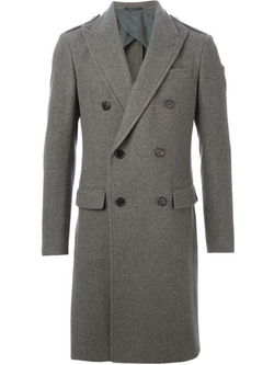 Ralph Lauren Black - Military Style Coat