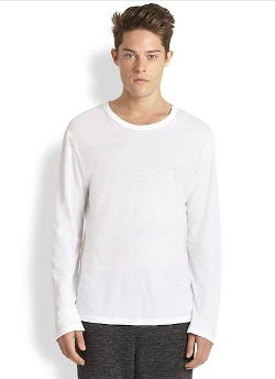 T by Alexander Wang - Solid Cotton Tee