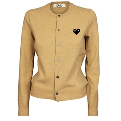 Garment Quarter - Ladies Black Logo Cardigan