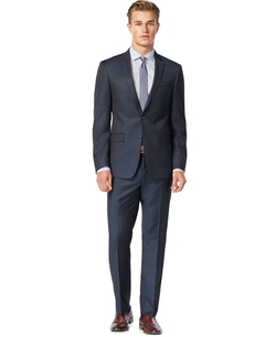 DKNY - Iridescent Solid Slim-Fit Suit