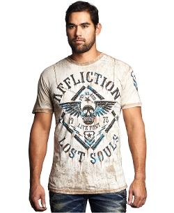 Affliction - Alloy Rust T-Shirt