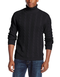 Alex Stevens - Cable Turtleneck Sweater