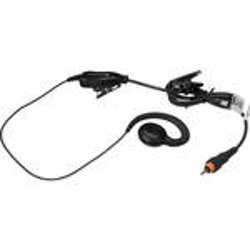 Motorola - Lightweight Earpiece with Inline Clip