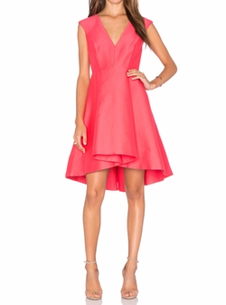 Halston Heritage - High Low Dress