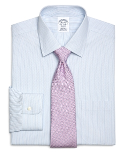 Brooks Brothers - Non-Iron Regent Fit Split Stripe Dress Shirt