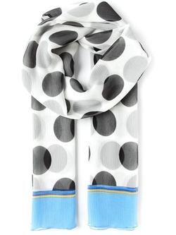 Dolce & Gabbana - Large Polka Dot Print Scarf