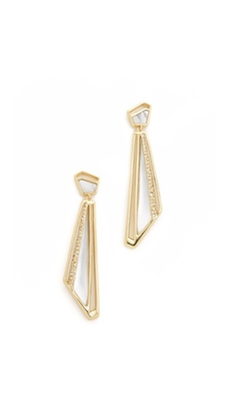 Alexis Bittar - Crystal Encrusted Dangling Earrings