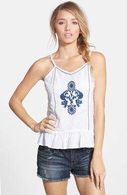 Cotton Express - Embroidered Camisole