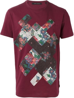 Marc Jacobs - Patchwork Print T-Shirt