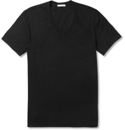 James Perse   - V-neck Cotton-jersey T-shirt