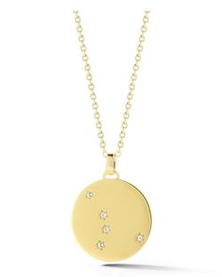 Elizabeth and James - Vega Star Medallion Pendant Necklace