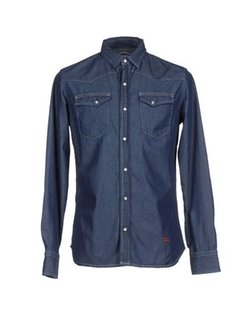 Jey Cole Man - Dark Wash Denim Shirt