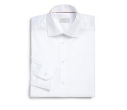 Eton of Sweden  - Slim-Fit Solid Twill Dress Shirt