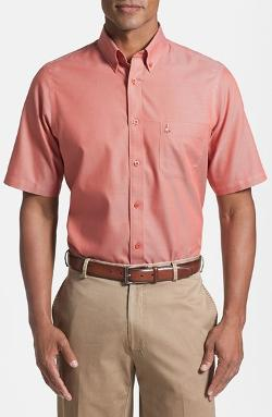 Nordstrom - Regular Fit Short Sleeve Cotton Sport Shirt