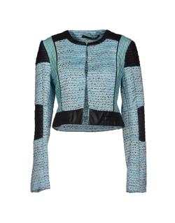 Anarita N. - Jacquard Multi-Color Pattern Jacket