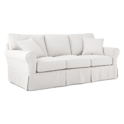 JC Penny - Friday Brushed Canvas Slipcovered Sofa