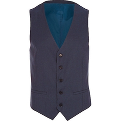 River Island - Single Breasted Vest