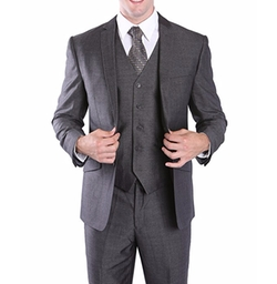 House of St. Benets  - 3 Piece Slim Suit