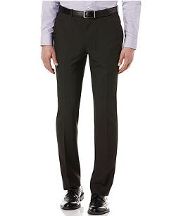 Perry Ellis  - Slim-Fit Textured Pants