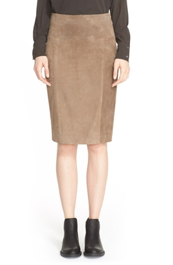 Eleventy - Suede Pencil Skirt