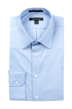 Nordstrom Rack - Solid Button-Down Collar Traditional Fit Non-Iron Dress Shirt