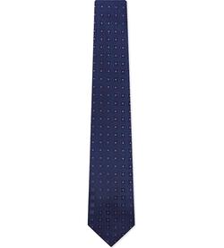 Charvet - Multi-Square Print Silk Tie