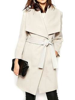Clothink - Single Button Trench Coat