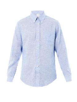 BROOKS BROTHERS - Linen shirt