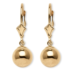 Palmbeach Jewelry  - Ball Drop Earrings