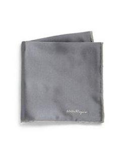 Salvatore Ferragamo - Silk Twill Pocket Square