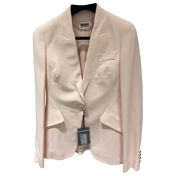 Alexander Mcqueen - Pink Cotton Jacket