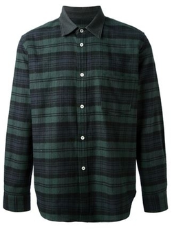 Golden Goose Deluxe Brand - Plaid Pattern Shirt