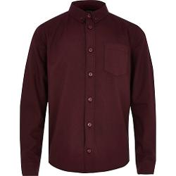 River Island - Boys Red Oxford Shirt