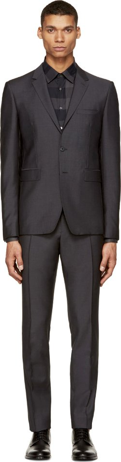 Burberry London - Wool & Mohair Sterling Suit