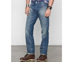 Ralph Lauren  - Straight-Fit Traverse-Wash Jeans