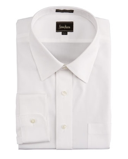 Neiman Marcus  - No-Iron Pinpoint Shirt