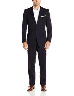 Calvin Klein - Peak Lapel Slim-Fit Suit