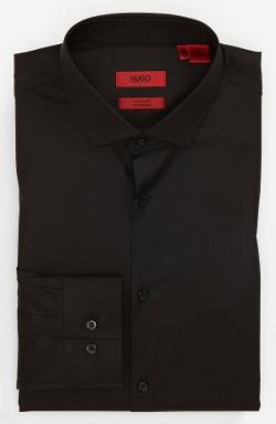 Hugo - Slim Fit Cotton Stretch Dress Shirt