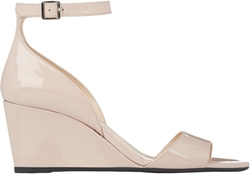 Prada - Suede Ankle-Strap Wedge Sandals