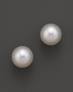 Tara Pearls  - South Sea Cultured Pearl Stud Earrings