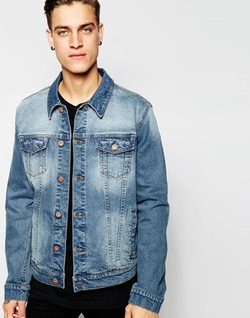 Asos - Slim-Fit Denim Jacket