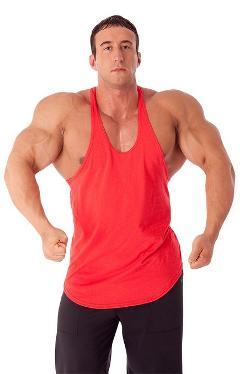 Pitbull Gym  - Mens Stretch Cotton Stringer Tank Top