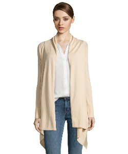 BCBGMAXAZRIA  - Parfait Cotton Draped Cardigan