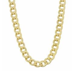 Kooljewelry - Polish Miami Cuban Chain Necklace