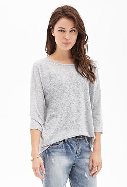 Forever 21 - Loose-Knit Slouchy Sweater